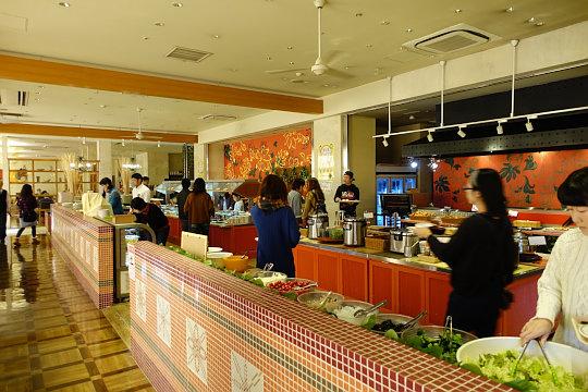 三井ガーデンホテルプラナ東京ベイの朝食ブッフェ